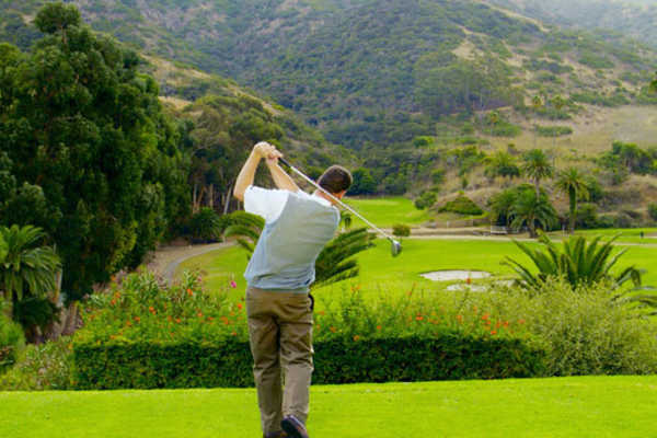 Catalina Island Golf Course - hole 1