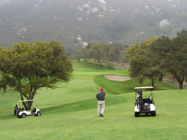 Temecula Creek Inn - Oaks golf course - 4th