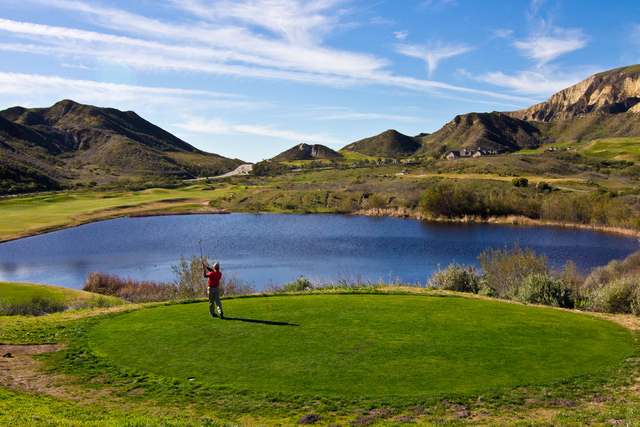 Lost Canyons Golf Club In Simi Valley