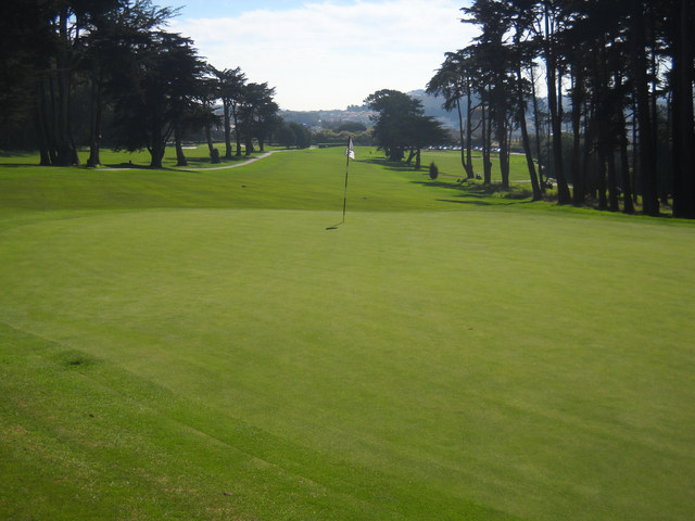 Presidio Golf Course - hole 10
