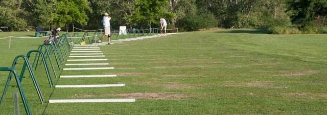 Teal Bend GC: driving range