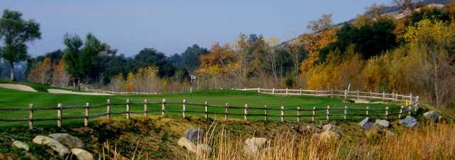 Woods Valley GC: #16