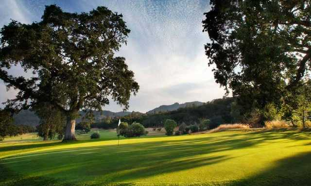 Aetna Springs Golf Course, California