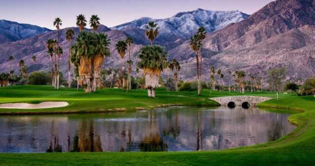 South Course At Indian Canyons Golf Resort In Palm Springs