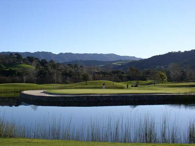 River Course At Alisal In Solvang