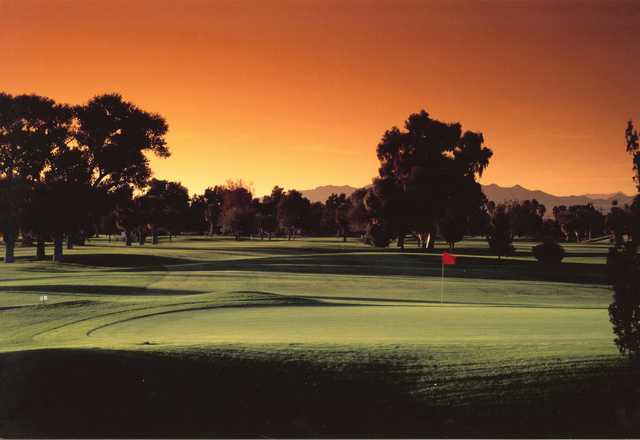Rivers Edge Golf Course In Needles