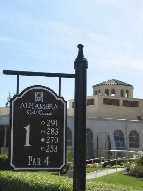 Alhambra Golf Course In Alhambra