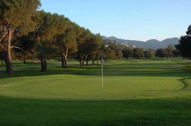 Number One At Brookside Golf Club In Pasadena