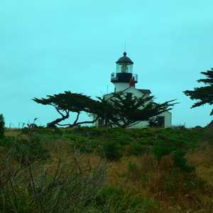 Pacific Grove Golf Links - Point Pinos Lighthouse