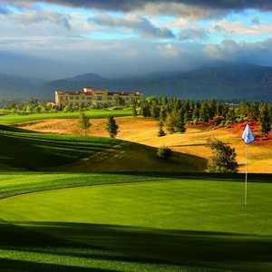 Classic Club golf course - hole 6
