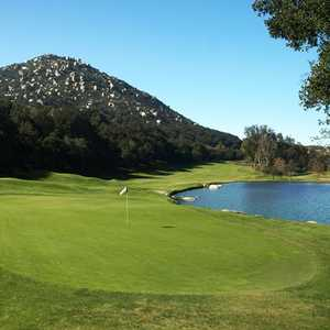 Mt. Woodson Golf Club - hole 18