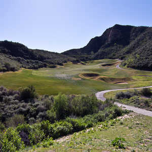 Sky Course at Lost Canyons Golf Club - 16th hole