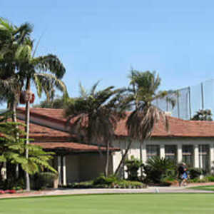 Rancho Park GC: clubhouse