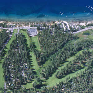 Old Brockway GC: aerial view