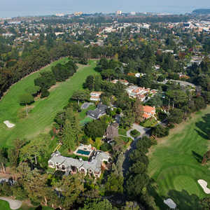 Burlingame CC: Aerial view