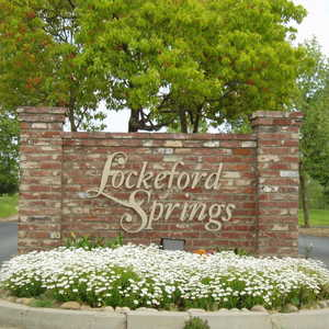 Lockeford Springs GC Sign