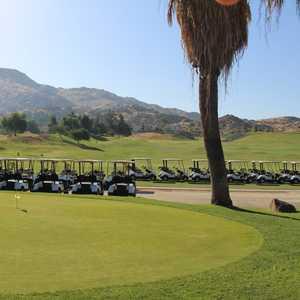 Moreno Valley Ranch GC: Practice area
