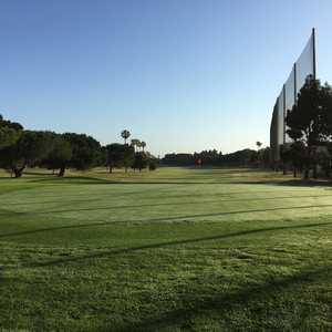North at Alondra Park Golf Course: 15th green