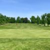 A view of a green at Mather Golf Course.