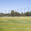A view of the driving range at Pruneridge Golf Course.
