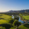 Aerial view from the Resort Course at Tahquitz Creek Golf Resort