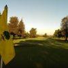 A view from a green at Santa Rosa Golf & Country Club.