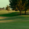 A view of a fairway at Lemoore Golf Course.