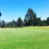 A view of the 2nd green at Santa Anita Golf Course.