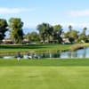 A view of the 3rd hole at Cathedral Canyon Golf Club.