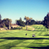 A view of fairway #1 at Butterfield Stage from El Prado Golf Courses.