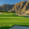 A sunny day view of a hole at SilverRock Resort.