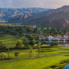 Aerial view from La Quinta Country Club.
