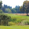 A view of a tee at Rooster Run Golf Club.