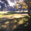 A view of hole #9 at William Land Park Golf Course.