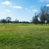 A sunny day view from William Land Park Golf Course.