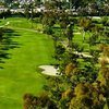 Aerial view of a fairway at San Diego Country Club