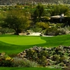 A view of hole #17 at The Mountains Course (courtesy of Bighorn Golf Club)