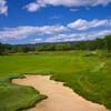 A view of the 5th hole at Aetna Springs Golf Course (courtesy of Renassance Golf Design)