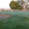A view of the 1st green at Forebay Golf Course