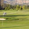 A view of green at Rancho del Pueblo Golf Course