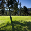 A view of the 18th green at Mountain View Golf Course