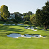 A view of the 3rd hole at Pasatiempo Golf Club