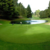 A view of green #16 at Sequoyah Country Club