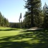 A view back down the 11th fairway at Tahoe Donner Golf Course