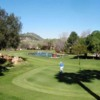 A view of a green at Rancho Monserate Country Club
