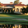 A view of the clubhouse at Ruby Hill Golf Club