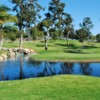 View of a green at Colina Park Golf Course