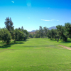 A view from the 10th tee at Pine Glen from Singing Hills Golf Resort at Sycuan.