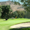 A view of the 16th hole at Pine Glen from Singing Hills Golf Resort at Sycuan.