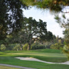 A view of a hole protected by sand traps at Contra Costa Country Club